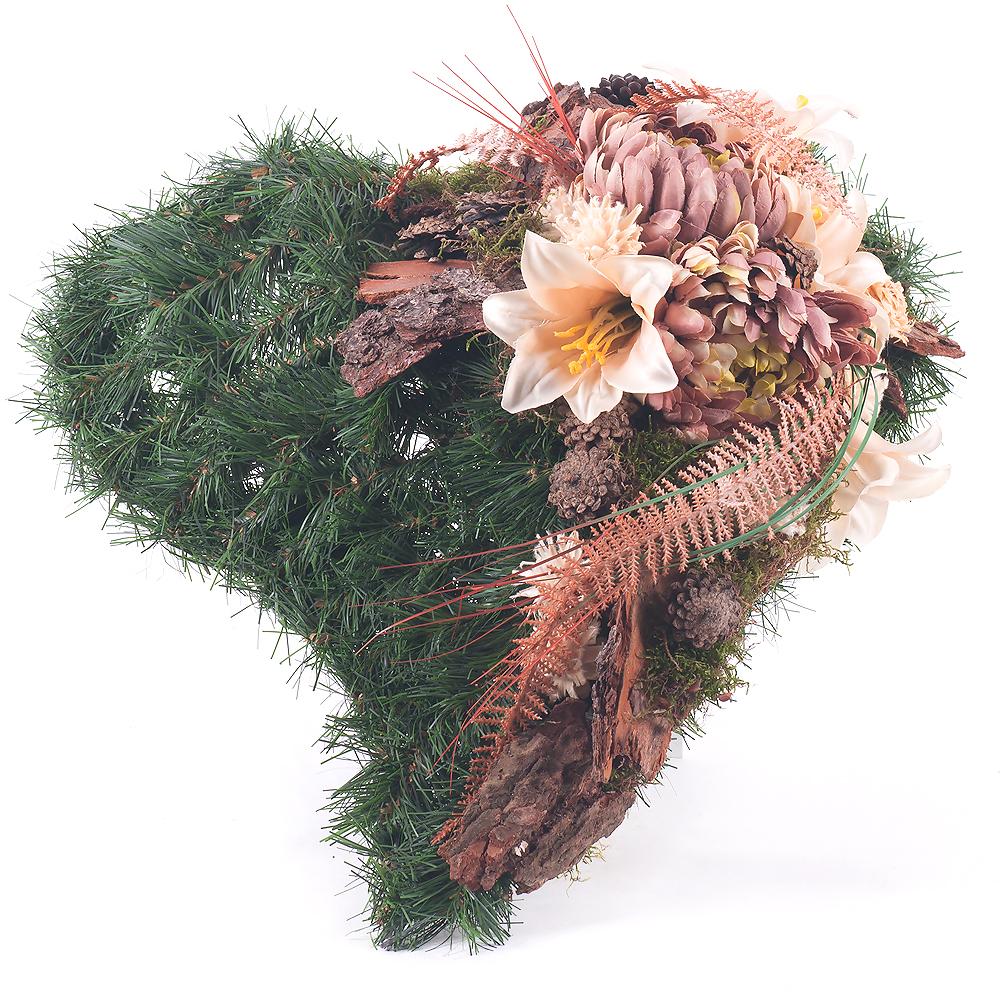 86f4ea596 Irigo smútočné srdce hnedé kvety | KVETY.sk