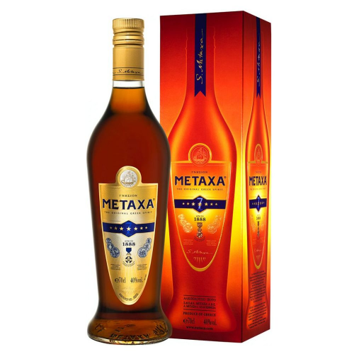 Metaxa 7 star 40% 0,7 l