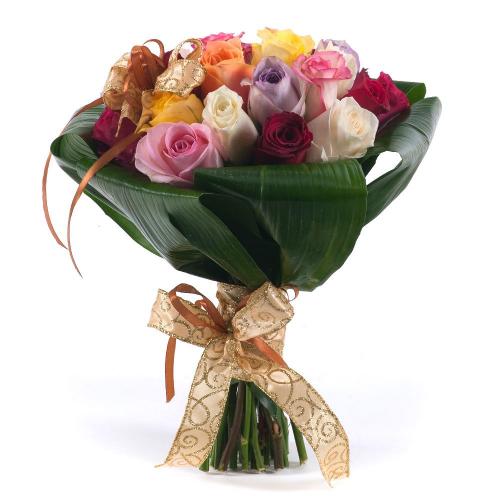 Perla farebné ruže