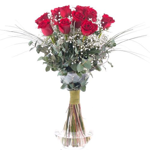 Grande červené ruže