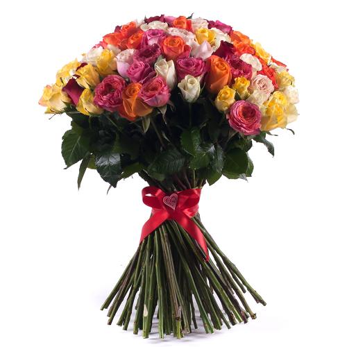 Amore farebné ruže Grand