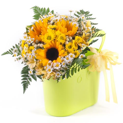 Flower bag slnečnice