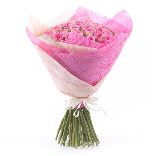 Sweet ružové ruže Time Square