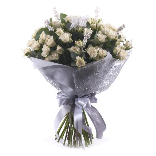 Sweet trsové biele ruže