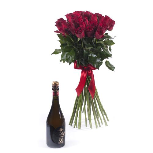 Amore červené ruže Johann Hubert XO