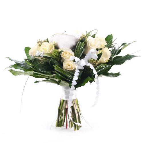 Elite krémové ruže srdiečka